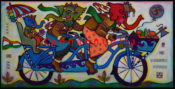 "Family Bike - 48"" x 30""-SOLD"