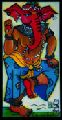 "Ganeeshini 1 - 15"" x 30""-SOLD"
