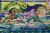 """Swimmers Large & Small - 30"""" x 48"""""""