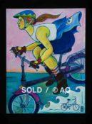 """Wave Rider #2 - 30"""" x 40"""""""