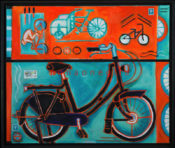 "Dutch Bikes 1 - 22"" x 26"" - SOLD"