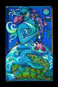 "Ocean Dress - 30"" x 48"" - SOLD"