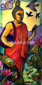 """Standing Buddha - 18"""" x 36"""""""