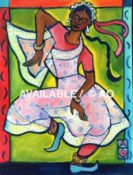 "National Day Dancer #1 - 12"" x 16"""
